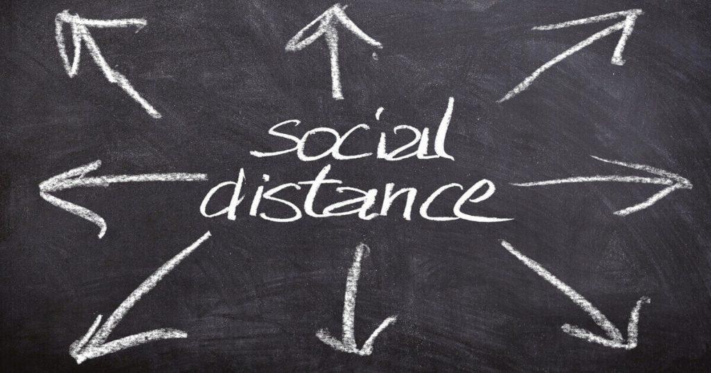 distantarea sociala